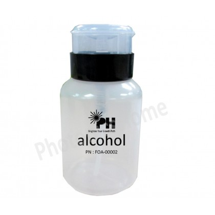 PH® Automatic 8oz Plastic Alcohol Dispensing Bottle with Twist Lock