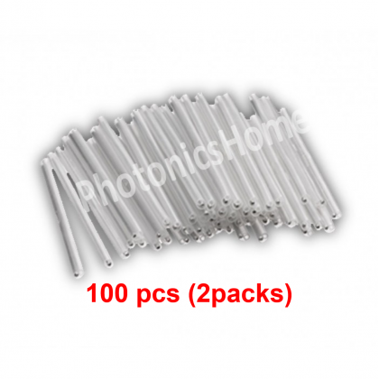 Drop Cable Splice Protection Sleeve, 60 mm 1.5mm Steel Rod, 100pcs / 2packs